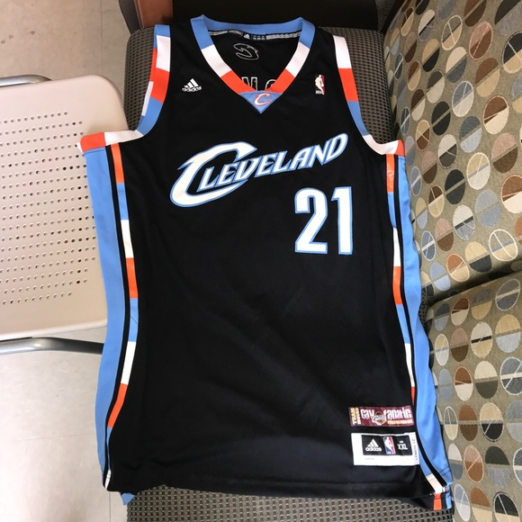 detailed look 3c834 e1a47 JJ Hickson Cleveland Cavaliers Team Black Jersey